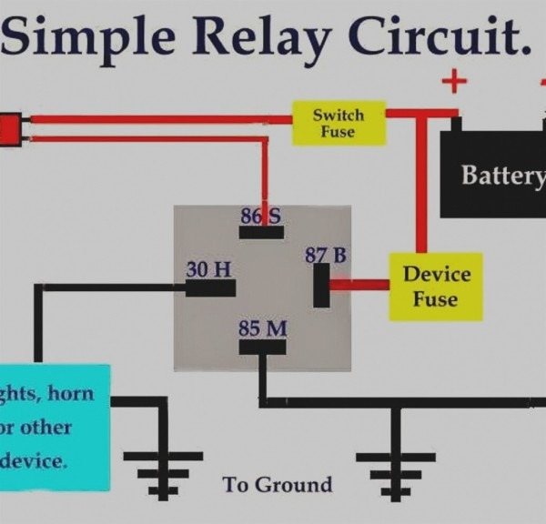 Latest Of Bosch Horn Relay Wiring Diagram New For Simple With Afif