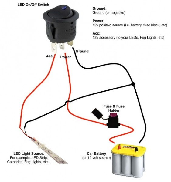 On Off Toggle Switch Wiring