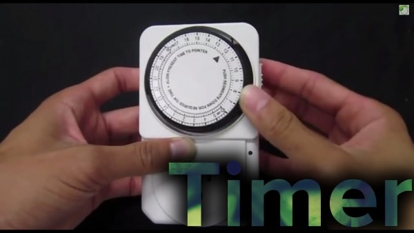 How To Use A Mechanical Timer For Hydroponics Setup Tutorial