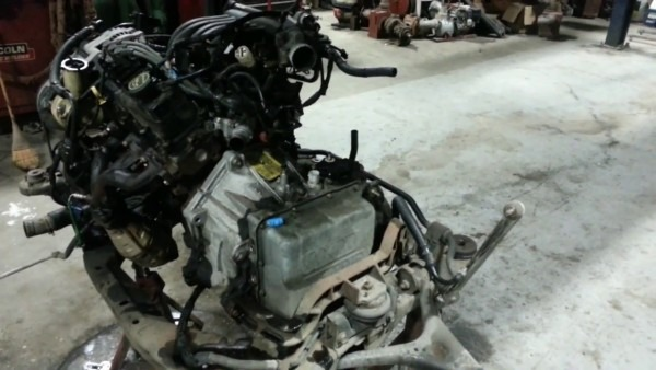 2001 Ford Taurus Engine Compartment & Removal