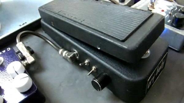 Dunlop Gcb95, Crybaby Wah'l'again Mod, Msm Workshop