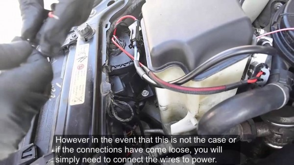Angel Eye Wiring Harness Installation