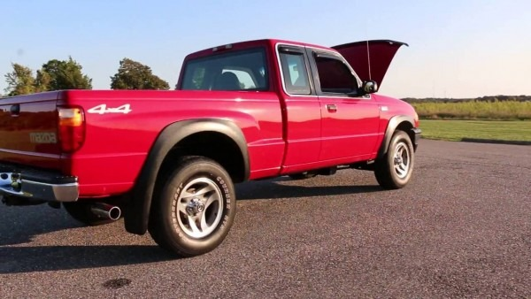 2001 Mazda B4000 4x4 Extended Cab Pickup For Sale~85k~salvage