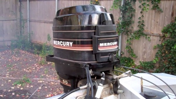 1985 Mercury Outboard 50 Horsepower
