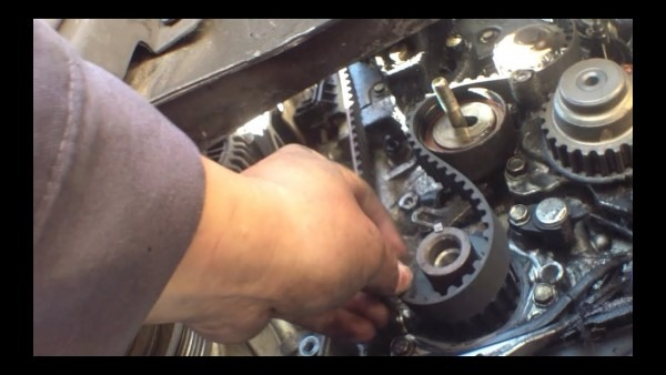 How To Replace Timing Belt '97