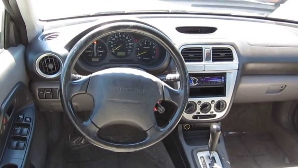 2002 Subaru Impreza, White