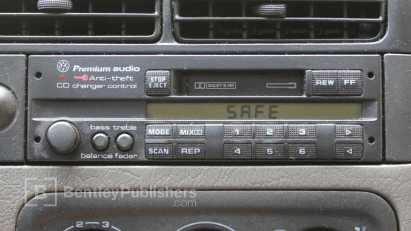 Vw Or Audi How To Enter A Radio Code