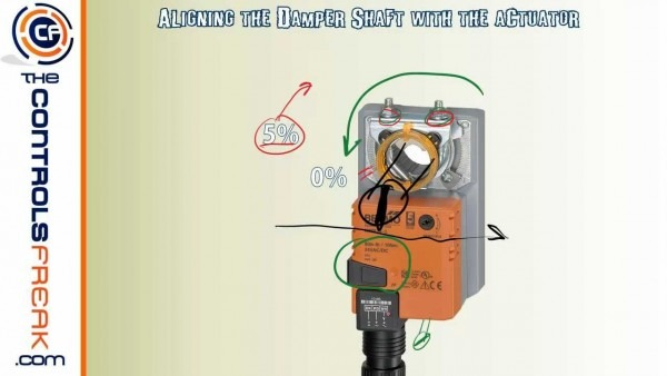 Quick Tip To Make Sure Your Belimo Actuator Seals Your Damper