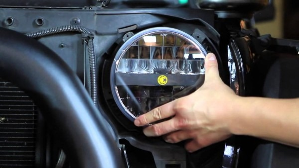 Kc Hilites  Jk Jeep Wrangler Headlight Install   Conversion