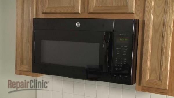 Ge Microwave Disassembly – Microwave Repair Help