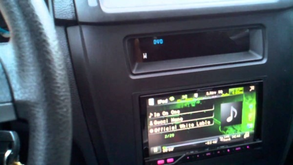 Ford Fusion Pioneer Headunit