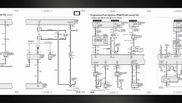 Honda Wiring Diagrams To 1995
