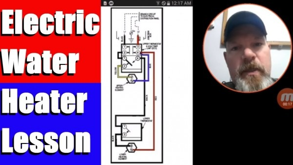 Electric Water Heater Lesson Wiring Schematic And Operation