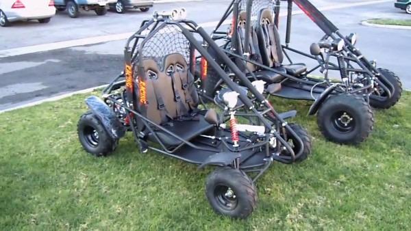 Bms 110cc Power Go Kart Review