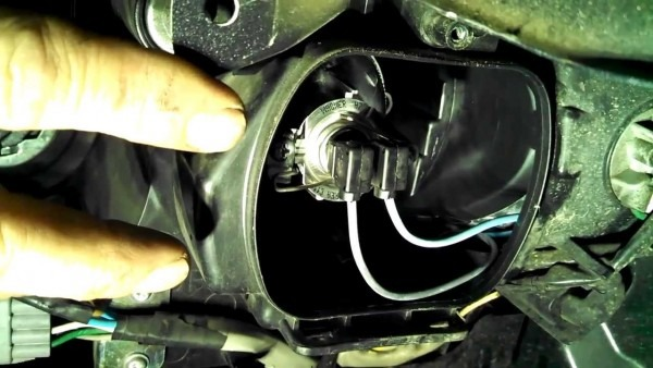 Headlight Bulb Replacement Subaru Tribeca 2006