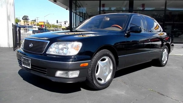 1999 Lexus Ls400 2 Owner 69,000 Orig Mi Black Beauty For Sale