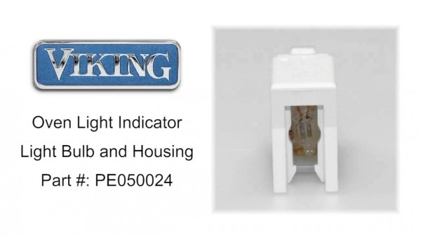 Viking Oven Light Indicator Light Bulb And Housing Part