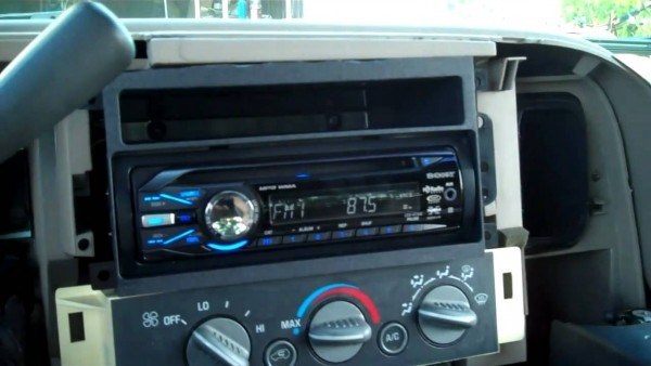 Putting A New Stereo In The Silverado