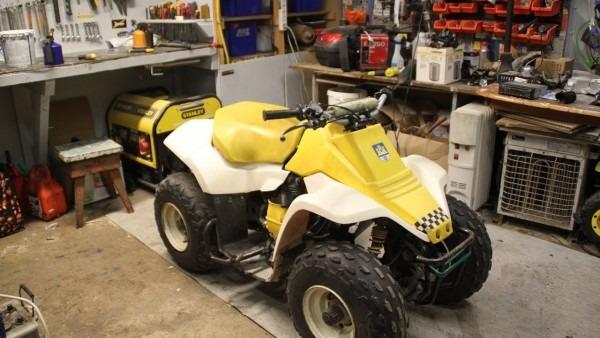 Suzuki Lt80 Starter