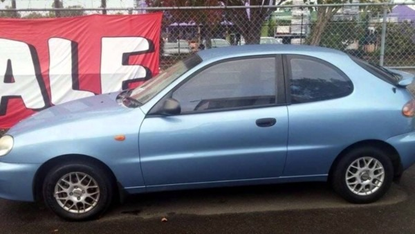 2003 Daewoo Lanos Se Light Blue 4 Speed Automatic Hatchback