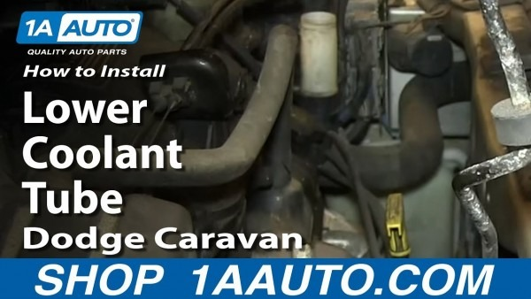 How To Install Fix Leaking Lower Coolant Tube 2001