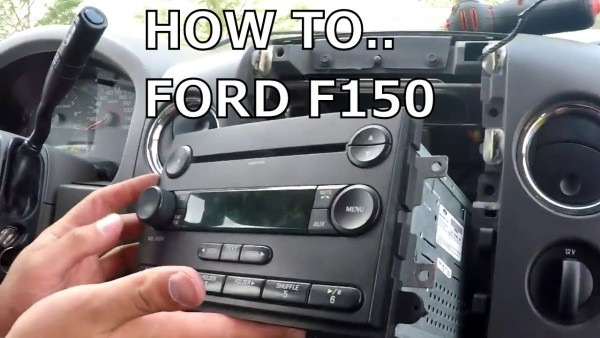 How To Fix Stock Radio Display Ford F150 2006, Or How Not To