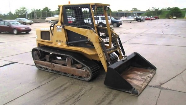 2002 Asv Skid Steer Md2810