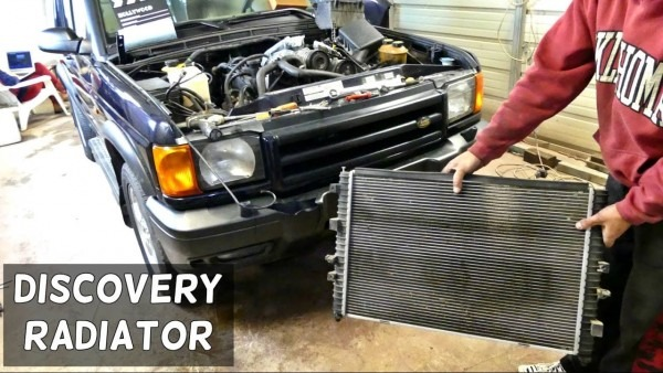 Land Rover Discovery Radiator Removal Replacement