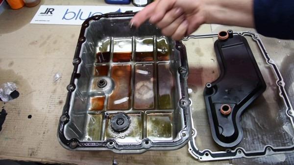 Automatic Transmission Maintenance  Jaguar S