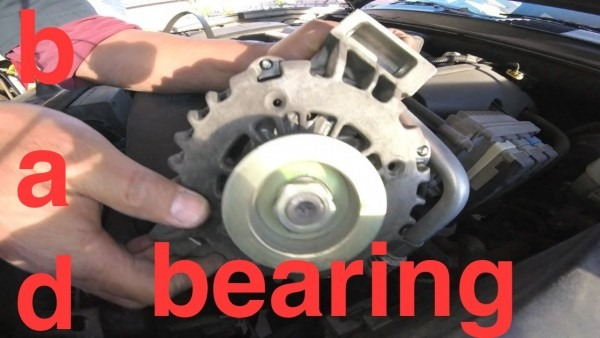 Grinding Noise Hard Vibration Alternator Replacement Chevy