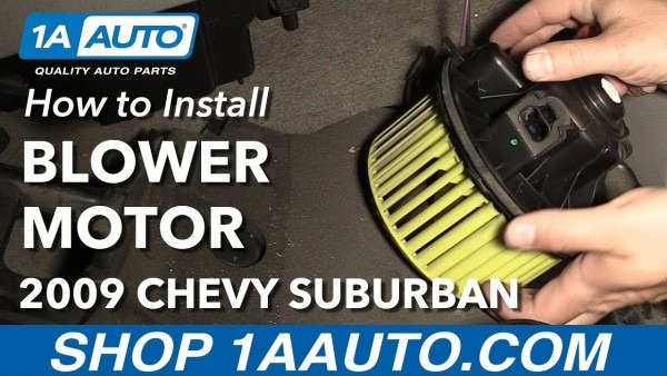 How To Install Replace Front Heater Blower Motor 2003