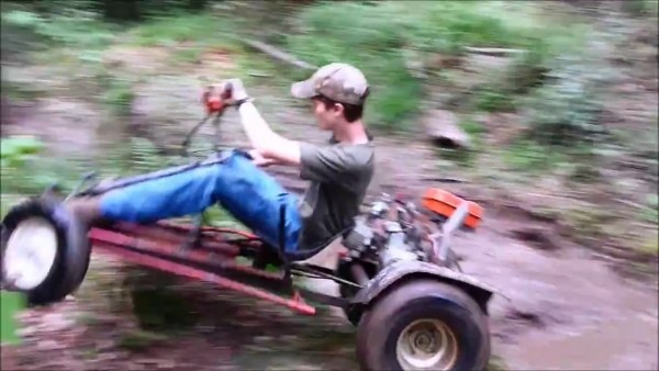 Bashing The Mini Rail Buggy