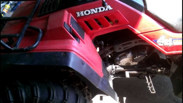 Honda Fourtrax 350 4x4