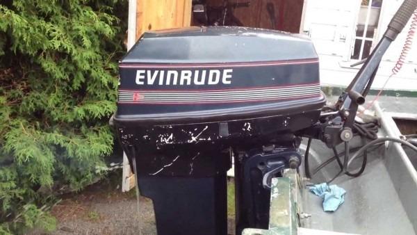 1989 Evinrude 40 Hp E40telcec