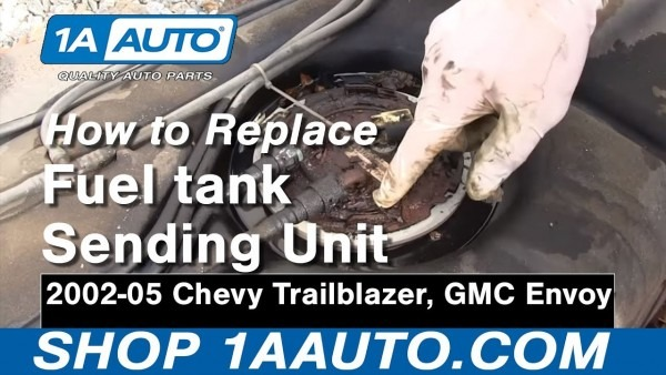 How To Install Replace Fuel Tank Sending Unit And Pump Gmc Envoy