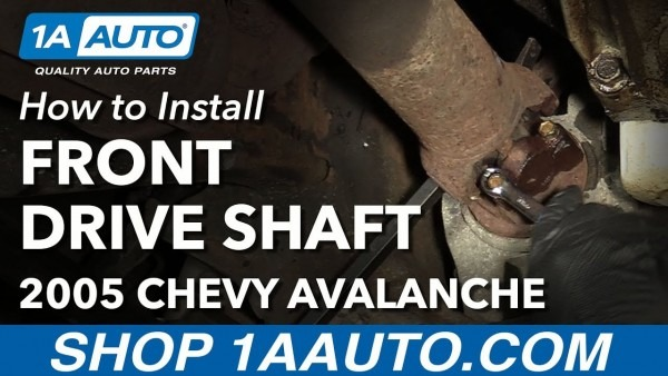 How To Remove Reinstall Front Drive Shaft 2005 Chevy Avalanche