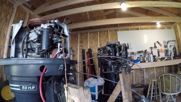 Mercury Outboard Thunderbolt 500 50 Hp Part 1