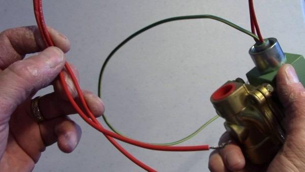 W600 Wiring  Solenoid Valves