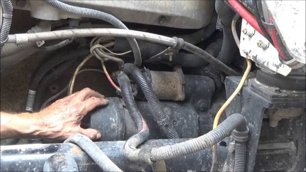 Changing Starter On A Big Truck