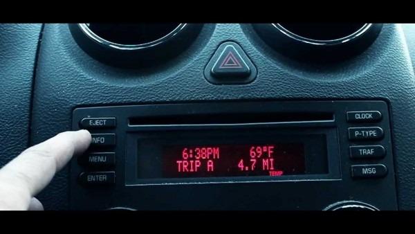 Pontiac G6 Oil Reset Display