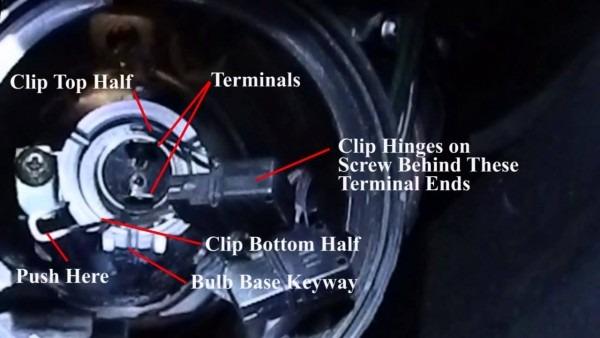 Change A Headlight On A Subaru Tribeca