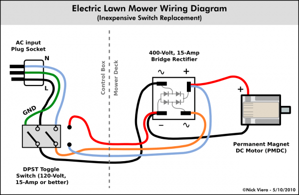 Lawn Mower Switch Wiring