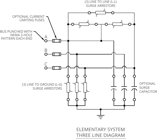 Surge Suppressor Circuit Diagram