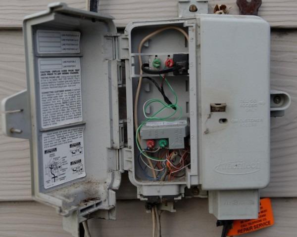 Phone Box Wiring