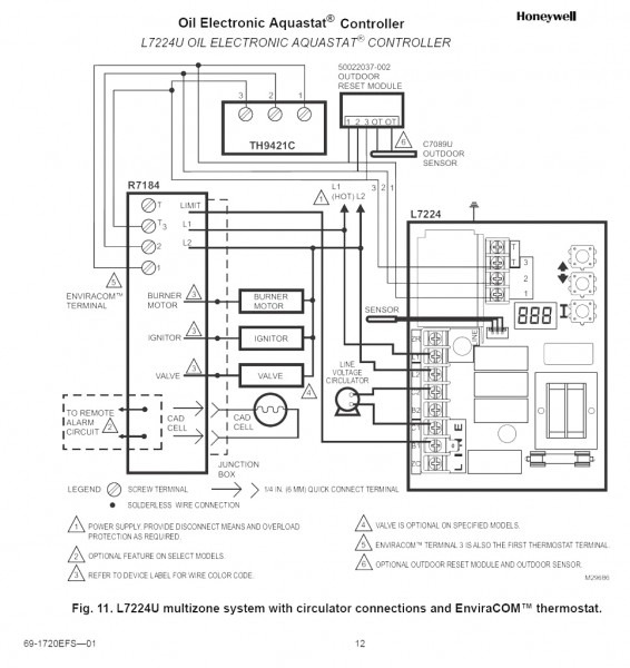 Oil Burner Schematic