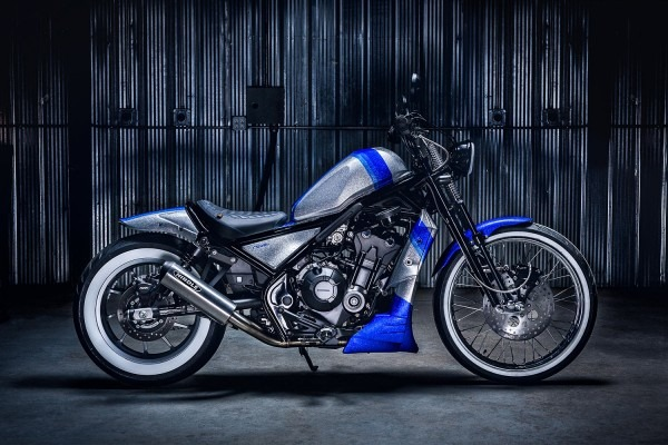 Fight Like A Diamond  Origin8or's Brilliant Honda Rebel Bobber