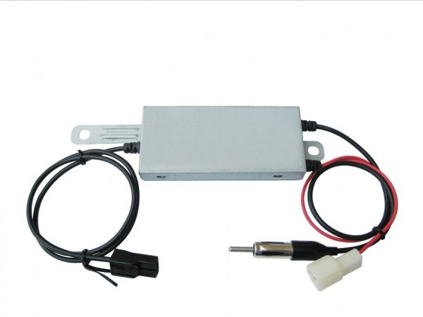 75 Ohms Am Fm Active Car Antenna Amplifier , Auto Antenna Amplifier