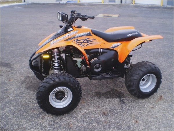 Polaris Scrambler 500 4x4  Pics, Specs And List Of Seriess By Year