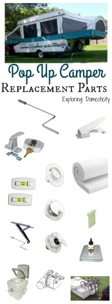 Pop Up Camper Replacement Parts ⋆ Exploring Domesticity
