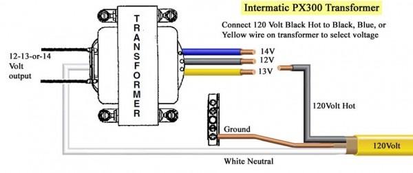 Ac Transformer Wiring Diagram